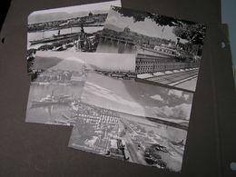 Geneve , Ca. 1960  4  Alte Karten * Mit Hafen , Schiffe - GE Genf