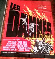 AFFICHE CINE ORIG LES DAMNES Dirk Bogarde(L Visconti/1969) 160X120CM Mascii - Posters