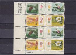 USA 1969 FLEURS Yvert 879-882 NEUF**MNH - Etats-Unis