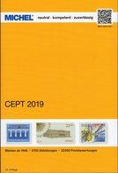 EUROPE Michel Katalog 2019 New 72€ Briefmarken Jahrgang-Tabelle Vorläufer Symphatie-Ausgabe Stamp Catalogue Of CEPT - Collections