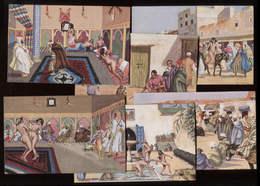 Maroc Miniatures D'Abascal 6 CP Couleur éd Mars Casablanca Poids > 20g - Autres