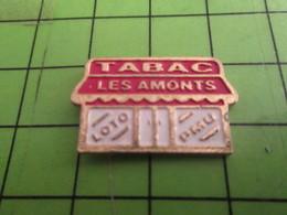 SP11 Pin's Pins /  Rare & De Belle Qualité : THEME MARQUES / BAR-TABAC LES AMONTS Mais Sans Marcel ! - Marques