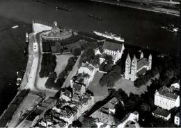 ! Koblenz, Deutsches Eck, Rhein, Luftbild 1938, Moderner Abzug Nr. 39802, Format 17,8 X 12,7 Cm - Koblenz