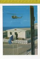 "NAQOURA LIBANO 1° RAGGRUPPAMENTO ALI ""ANTARES"" HELISQUADRON ITALIA LEBANON ELICOTTERO - Militari"