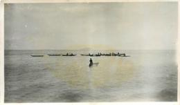 Western Samoa, Photo-carte Pirogue De Pêche, N° 1 - Samoa