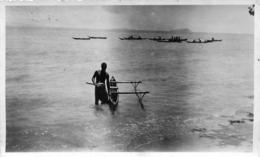 Western Samoa, Photo-carte Pirogue De Pêche, N° 2 - Samoa