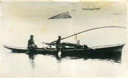 Samoa, Photo-carte Pirogue De Pêche, N° 3 - Samoa