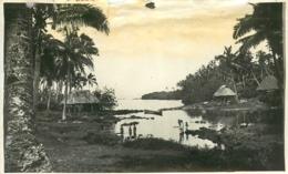 Samoa, Photo-carte D'une Lagune Communicant Avec La Mer, N° 2 - Samoa