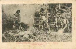 Nouvelles Hébrides, Cannibalisme, Beau Document - Cartes Postales