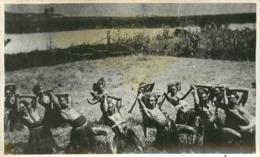 Archipel Des Fidjis, Photo-carte, Danse De Guerre, N° 1, Beau Document Pas Courant - Fidji