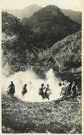 Archipel Des Fidjis, Photo-carte, Danse Du Feu à Rewa, Beau Document Pas Courant - Fidji