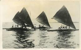 Archipel Des Fidjis,  Course De Pirogues, Très Beau Document - Fidji