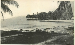 Iles Salomon, Guadalcanal, Photo-carte D'une Baie ( Vi.... ? ), Beau Document - Salomon