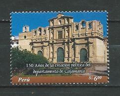 Peru / Perou 2006 The 150th Anniversary Of The Creation Of Cajamarca Province. MNH - Peru