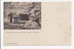 CPA ALGERIE The Constantine Phosphate Cy Kouit Entrée Du Plan Incliné  Mines - Constantine