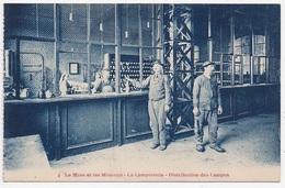 CPA LA MINE ET LES MINEURS La Lampisterie Distribution Des Lampes - Mines