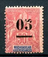 MADAGASCAR -  48 - 05 Sur 50c Rose - Neuf N* - Très Beau - Madagascar (1889-1960)