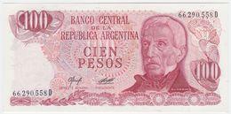 Argentina P 302 B - 100 Pesos 1976 1978 - UNC - Argentina