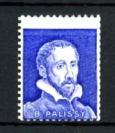 """Vignette PALISSY - Bleu - Variété """"piquage à Cheval"""" - Neuf N** - Très Beau - Proefdrukken"""