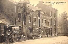 St Servais - Moulin Gilain, Rue De Gemboux (top Animation, Oldtimer, Pompe à Essence) - Namur