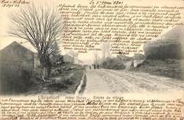 Libramont - Hôtel Duroy - Entrée Du Village (animée, 1903) - Libramont-Chevigny