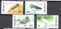 Birds Set Mnh ** Hong Kong - Non Classificati