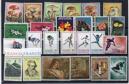 San Marino - Anni Vari - Lotto 25 Francobolli - Nuovi - Vedi Foto - (FDC13465) - Collezioni & Lotti