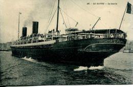 """N°68289 -cpa Transatlantique La """"Savoie"""" De La Cie Générale Transatlantique- - Paquebots"""