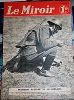 Rare Revue Le Miroir Guerre 39-40 Du 14 Avril 1940 - 1939-45