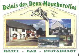 CORRENCON EN VERCORS. CP Les Deux Moucherolles - France