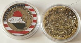 Medalla Operación Libertad Iraqí. Bagdad. US Armay. Estados Unidos De América - Estados Unidos
