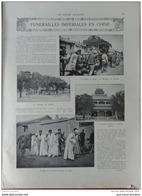 1909 CHINE FUNÉRAILLES IMPÉRIALES  -SULTAN MOHAMED - MOTOSACOCHE - AUTOMOBILES BRASIER - JEANNE D'ARC - BLIGNY - Livres, BD, Revues