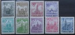 Costa Rica 1967 Aereo Churches An Catedrals - Costa Rica