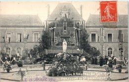 49 - Le LION D'ANGERS -- 20 JUIN 1909 6 PROCESSION DU ST SACREMENT - France