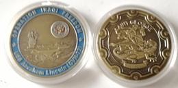 Medalla Operación Libertad Iraqí. Portaviones USS Abraham Lincoln. US Navy. Estados Unidos De América - Estados Unidos