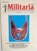 Revista Militaria. Nº 1. Febrero 2001. Alemania. Medallas Y Uniformes - Revistas & Periódicos