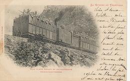 Train Blindé En Reconnaissance Guerre Du Transvaal Boer War  Edit Weick St Dié Castel De Samian St Didier Le Pontet 1900 - Treinen