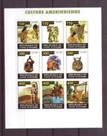 COTE D'IVOIRE 2009 INDIENS EMISSION PRIVEE  YVERT N°   NEUF MNH** - Indiens D'Amérique