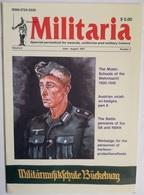 Revista Militaria. Nº 4. Junio - Agosto 2001. Alemania. Medallas Y Uniformes - Revistas & Periódicos