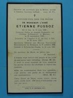 Abbé Etienne Possoz Hal 1886 St-Josse-ten-Noode 1921 - Devotion Images