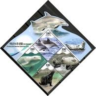 Korea South 2018 Corea / Fauna Marine Mammals MNH Mamíferos Marinos Säugetiere / Cu10226  30-20 - Mamíferos Marinos