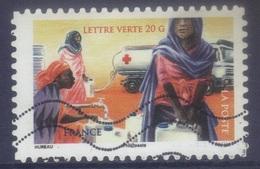 AA 1134 Croix Rouge - Approvisionnement Eau  (2015) Oblitéré - France