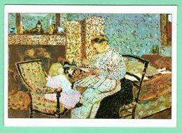 """Arts-Tableaux -""""Èdouard VUILLARD-né à Cuiseaux,1868-Mortàla Baule,1940 'La Soupe'1901 Huile Sur Toile St Tropez. - Autres Collections"""