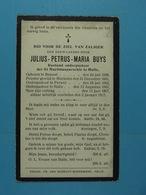 Julius Buys Rustend Ondespastoor Brussel 1838 Halle 1917 - Devotion Images