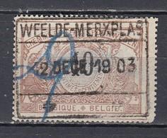 Tr 15 Gestempeld Weelde Merxplas - 1895-1913