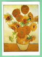 """Arts-Tableaux -Vincent Willem """"VAN GOGH.""""né à Groot 1853-mort à Auvers-sur-Oise,1890-""""TOUNESOLS""""Aout 1888. - Autres Collections"""