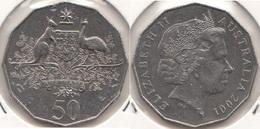 Australia 50 Cents 2001 Centenary Of Federation KM#491.1 - Used - Moneta Decimale (1966-...)