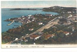 BEAULIEU - VUE GENERALE  . CARTE NON ECRITE - Beaulieu-sur-Mer