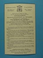 Monseigneur Etienne Carton De Wiart Evêque De Tournai Bruxelles 1898 Tournai 1948 - Devotion Images
