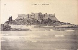 ANTIBES . LE FORT REILLE  . CARTE NON ECRITE - Antibes - Les Remparts